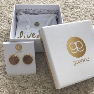gorjana Astoria Large Studs Gold